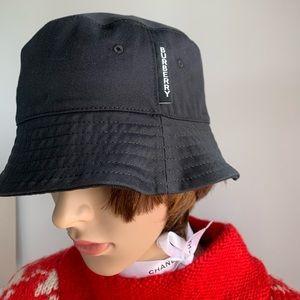 Burberry Cotton Twill 2 Panel Bucket Hat: Unisex